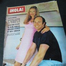 Coleccionismo de Revista Hola: REVISTA HOLA AGOSTO 1970 MARIA CALLAS MACHA MERIL SILVANA MANGANO MARIA SCHELL SOLEDAD MIRANDA MOORE. Lote 60738719