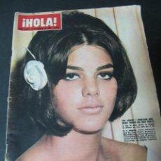 Coleccionismo de Revista Hola: REVISTA HOLA FEBRERO 1965 ENTIERRO Y FUNERAL DE CHURCHILL CLAUDIA CARDINALE SOFIA LOREN BARDOT. Lote 60738799