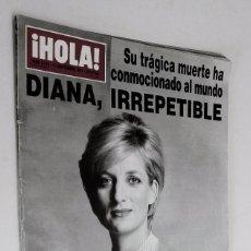 Coleccionismo de Revista Hola: DIANA PRINCESA DE GALES **** REVISTA HOLA *** AÑO 1997. Lote 61005147