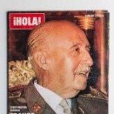 Coleccionismo de Revista Hola: FRANCO HA MUERTO / REVISTA HOLA NUMERO ESPECIAL / 8. Lote 61161511
