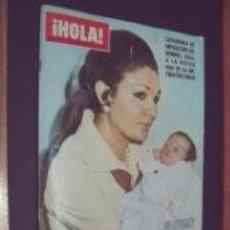 Coleccionismo de Revista Hola: EMPERATRIZ FARAH PAHLEVI / PORTADA Y REPORTAJE / REVISTA HOLA 1337 / 1970 / 16. Lote 61220543