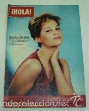 CLAUDIA CARDINALE / PORTADA Y REPORTAJE / REVISTA HOLA 995 / 1963 / 16 (Coleccionismo - Revistas y Periódicos Modernos (a partir de 1.940) - Revista Hola)