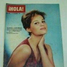 Coleccionismo de Revista Hola: CLAUDIA CARDINALE / PORTADA Y REPORTAJE / REVISTA HOLA 995 / 1963 / 16. Lote 61292519