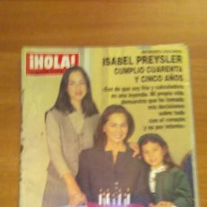 Coleccionismo de Revista Hola: REVISTA HOLA Nº 2690 - 1996. Lote 61748140