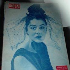 Coleccionismo de Revista Hola: REVISTA HOLA 641 / 1956 / FRANK SINATRA / ARISTOTELES ONASSIS / SOFIA LOREN / RITA HAYWORTH / 6. Lote 62155536