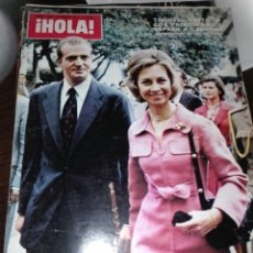 Coleccionismo de Revista Hola: REVISTA HOLA 1489 / 1973 / LOS PRINCIPES JUAN CARLOS Y SOFIA / ANA DE INGLATERRA / 2. Lote 62218152