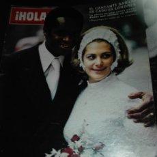 Coleccionismo de Revista Hola: REVISTA HOLA 1488 / 1973 / BASILIO / REINA MARGARITA / CRISTINA ONASSIS / 5. Lote 62306456