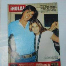 Coleccionismo de Revista Hola: REVISTA HOLA Nº 1625 OCTUBRE 1975. ANGELA MOLINA. CARMEN SEVILLA. GERALDINE CHAPLIN... TDKR22. Lote 62508896