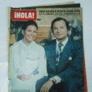 Coleccionismo de Revista Hola: REVISTA ¡HOLA! - Nº 1648. 27 MARZO DE 1976. CARLOS GUSTAVO DE SUECIA, SYLVIE VARTAN, PERET TDKR22 . Lote 62512940
