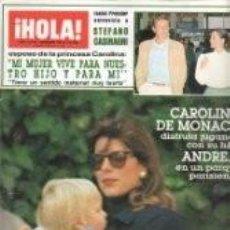 Coleccionismo de Revista Hola: REVISTA ¡HOLA! 2149 1985 CAROLINA DE MÓNACO, PAMELA BELLWOD, STEFANO CASIRAGHI, JULIO IGLESIAS/ 3. Lote 62561540