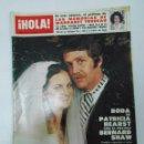 Coleccionismo de Revista Hola: REVISTA HOLA Nº 1807. 14 DE ABRIL DE 1979. BODA DE PATRICIA HEARST CON BERNARD SHAW. TDKR22. Lote 62589252