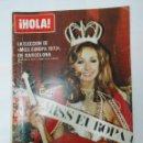 Coleccionismo de Revista Hola: REVISTA HOLA Nº 1505. 30 DE JUNIO DE 1973. ELECCION DE MISS EUROPA EN BARCELONA. TDKR22. Lote 62590160