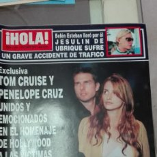 Coleccionismo de Revista Hola: REVISTA HOLA 2001 PAULINA RUBIO. Lote 62611884