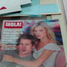 Coleccionismo de Revista Hola: REVISTA HOLA AÑO 2000 MARIA BRAVO,ESTHER CAÑADAS,MARK VANDERLOO,FOTO ALASKA,MARTINA KLEIN. Lote 62612352