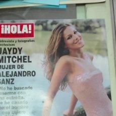 Coleccionismo de Revista Hola: REVISTA HOLA AÑO 2000 JAYDY MITCHEL,CARLOS SOBERA,NANI GAITAN,ALEXANDRA PAUL. Lote 62612848