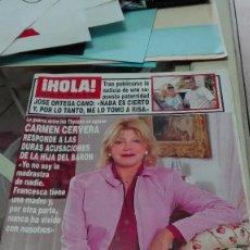 Coleccionismo de Revista Hola: REVISTA HOLA AÑO 2000.BRITNEY SPEARS Y JUSTIN TIMBERLAKE,MIGUEL LOPEZ ALEGRIA,RICHARD GERE. Lote 62613904