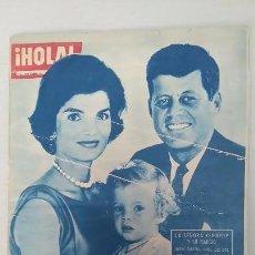 Coleccionismo de Revista Hola: ANTIGUA REVISTA HOLA NÚMERO 816 ABRIL 1960 LA SEÑORA KENNEDY Y SU MARIDO. . Lote 63094804