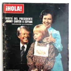 Coleccionismo de Revista Hola: REVISTA HOLA JULIO 1980.. Lote 63645327