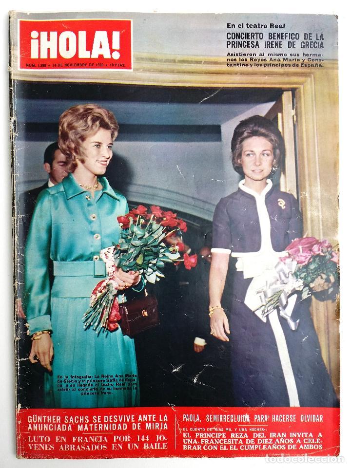 REVISTA HOLA NOVIEMBRE 1970. (Coleccionismo - Revistas y Periódicos Modernos (a partir de 1.940) - Revista Hola)