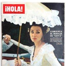 Coleccionismo de Revista Hola: REVISTA HOLA SEPTIEMBRE 1970.. Lote 63645759