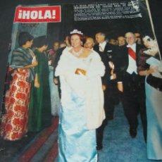 Coleccionismo de Revista Hola: REVISTA HOLA OCTUBRE 1968 CARTELES DOCTOR ZHIVAGO KARTUM NEVADA SMITH SOFIA LOREN . Lote 64802491