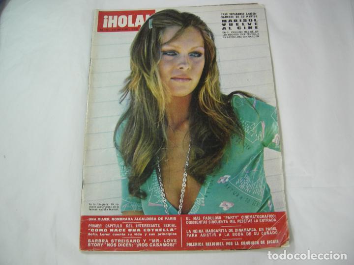 REVISTA - HOLA - 24 JUNIO 1972 Nº 1452 (Coleccionismo - Revistas y Periódicos Modernos (a partir de 1.940) - Revista Hola)