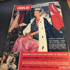 Coleccionismo de Revista Hola: HOLA Nº 1037 11 JULIO 1964 NUMERO ESPECIAL. MISS NACIONES, FARAH DIBA, CARMEN SEVILLA (HOL-A). Lote 65003359