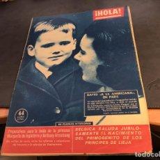 Coleccionismo de Revista Hola: HOLA Nº 817 23 ABRIL 1960 MARGARITA DE NGLATERRA, BRIGITTE BARDOT, (HOL-A). Lote 65302587