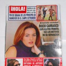 Collectionnisme de Magazine Hola: HOLA 2885 CAROLINA SE DEDICO POR COMPLETO SU HIJA PRINCIPES DE HANNOVER EN EL CAMPO EXTREMEÑO TDKR25. Lote 31864606