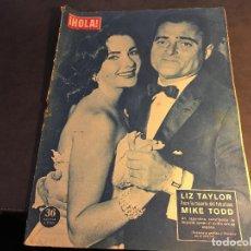 Coleccionismo de Revista Hola: HOLA Nº 709 29 MARZO 1958 (LIZ TAYLOR, SORAYA, MARIA CALLAS, (HOLA-A). Lote 65988830