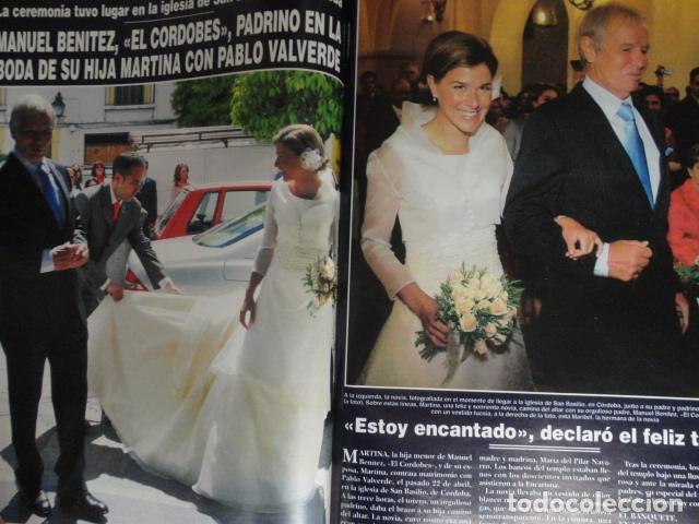 Coleccionismo de Revista Hola: REVISTA HOLA Nº 3.170 ,AÑO 2005 ,PAPA BENEDICTO XVI - EL CORDOBES - PENELOPE CRUZ - ROCIO DULCAL - - Foto 8 - 67537489