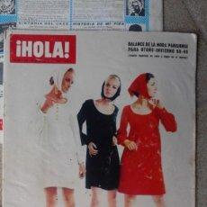 Coleccionismo de Revista Hola: VENDO ANTIGUA REVISTA HOLA DE AGOSTO DE 1968 LEER DESCRIPCIÓN.. Lote 77587882