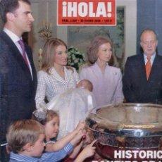 Coleccionismo de Revista Hola: BAUTIZO INFANTA LEONOR. REVISTA HOLA. Lote 43724922