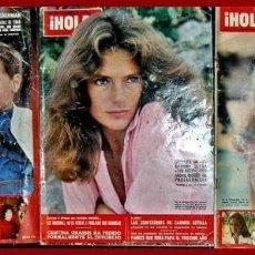 Coleccionismo de Revista Hola: LOTE HL 6.....3 REVISTAS HOLA. Lote 69447057