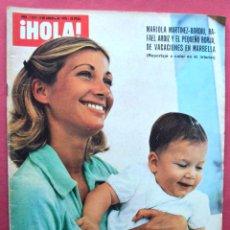 Coleccionismo de Revista Hola: REVISTA HOLA - AGOSTO 1975 - MARIOLA MARTINEZ BORDIU - MANUEL BENITEZ HIJO - CRISTINA ONASSIS. Lote 69478697