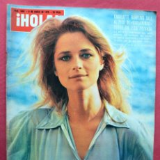 Coleccionismo de Revista Hola: REVISTA HOLA - MARZO 1975 - CHARLOTTE RAMPLING - BODA CARMEN CERVERA ESPARTACO SANTONI - SOFIA LOREN. Lote 69479053