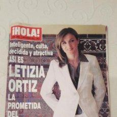 Coleccionismo de Revista Hola: REVISTA HOLA, NUMERO 3092, 13 NOVIEMBRE 2003. Lote 69499757