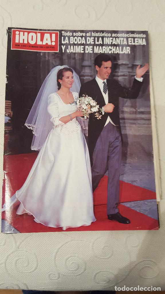 REVISTA HOLA, NUMERO 2642, 30 MARZO 1995 (Coleccionismo - Revistas y Periódicos Modernos (a partir de 1.940) - Revista Hola)