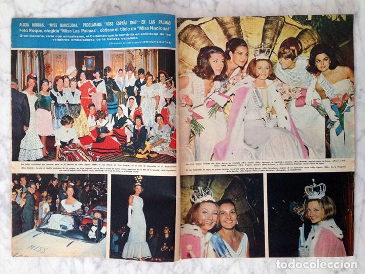 Coleccionismo de Revista Hola: HOLA - 1965 - ALICIA BORRÁS, MISS ESPAÑA, MARIA CALLAS, MARISA ALLASIO, FARAH DIBA, ROMY SCHNEIDER - Foto 2 - 214608026