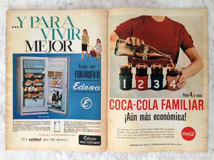 Coleccionismo de Revista Hola: HOLA - 1965 - ALICIA BORRÁS, MISS ESPAÑA, MARIA CALLAS, MARISA ALLASIO, FARAH DIBA, ROMY SCHNEIDER - Foto 3 - 214608026