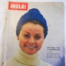 Coleccionismo de Revista Hola: REVISTA HOLA. NUM. 1.065. 23 ENERO 1965. ROCIO DURCAL RECIBE A LAS PRIMERAS NIEVES. LEER.. Lote 70131797