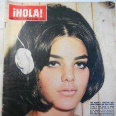Coleccionismo de Revista Hola: REVISTA HOLA. NUM. 1.067. 6 FEBRERO 1965. TINA AUMONT Y CHRISTIANE MARQUAND FORMAN UNA GRAN PAREJA... Lote 70132393