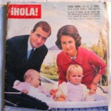 Coleccionismo de Revista Hola: REVISTA HOLA. NUM. 1.112. 18 DICIEMBRE 1965. DIA 20, LA PRINCESITA ELENA CUMPLE DOS AÑITOS.. Lote 70139805