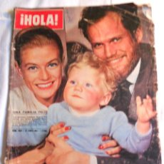 Coleccionismo de Revista Hola: REVISTA HOLA. NUM. 1.035. 27 JUNIO 1964. UNA FAMILIA FELIZ, NINA Y FREDERICK, CANTANTES. . Lote 70140177