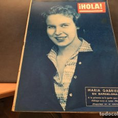 Coleccionismo de Revista Hola: HOLA Nº 762 4 ABRIL 1959 MARIA GABRIELA, ALAIN DELON, MARGARITA, (HOLA-A). Lote 71232171