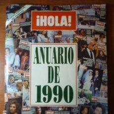 Coleccionismo de Revista Hola: REVISTA HOLA, ANUARIO 1990.. Lote 71458155