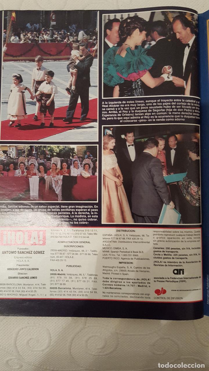 Coleccionismo de Revista Hola: REVISTA HOLA, NUMERO 2642, 30 MARZO 1995 - Foto 2 - 69500221
