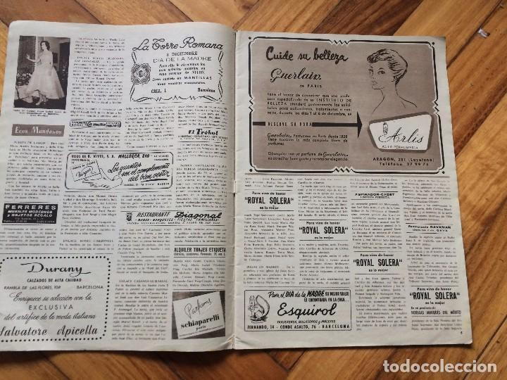 Coleccionismo de Revista Hola: Revista hola nº744 año 1958 - Foto 2 - 72767519