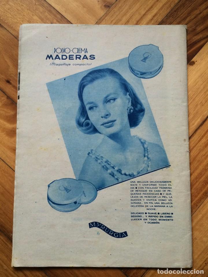 Coleccionismo de Revista Hola: Revista hola nº744 año 1958 - Foto 6 - 72767519