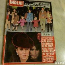 Coleccionismo de Revista Hola: REVISTA HOLA NUM 3518 ENERO 2012. KATE MIDDLE. FAMILIA REAL.CAROLINA CEREZUELA. Lote 73585627